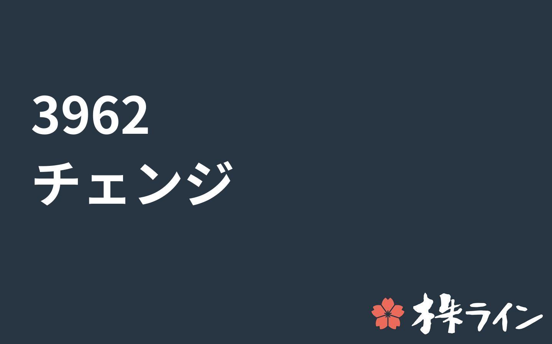 Pts チェンジ (株)チェンジ【3962】:掲示板