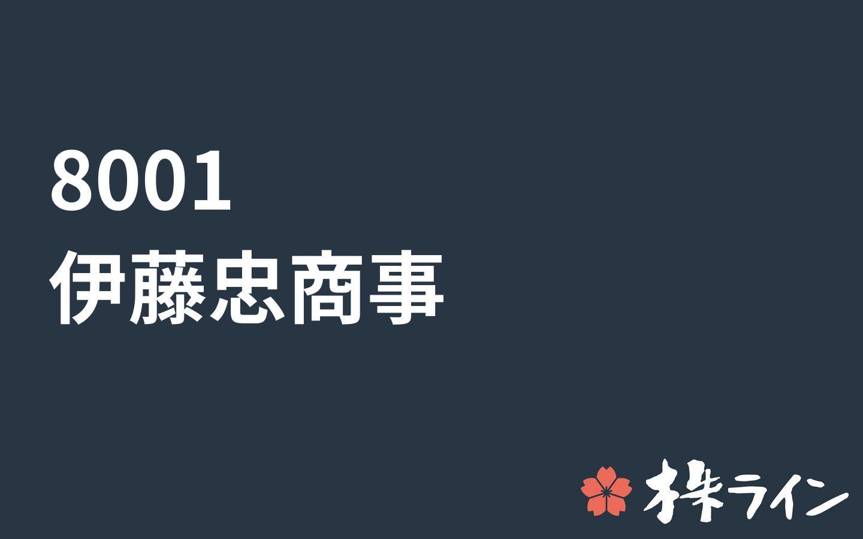 の 伊藤忠 株価 商事