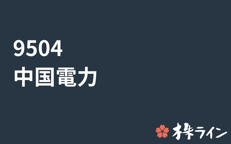 株価 中国 電力